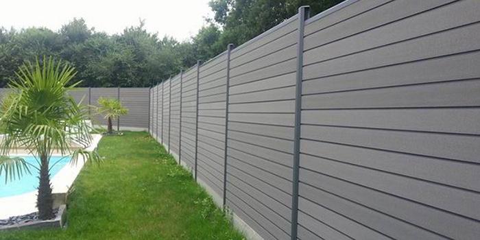 Une clôture PVC sur mesure et haut de gamme pour mon jardin ...